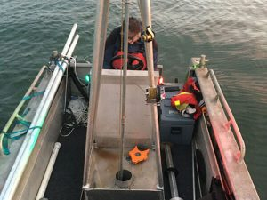Over water testing